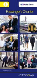 Passenger's Charter - Northern Rail