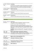 Schroth CV - Page 2