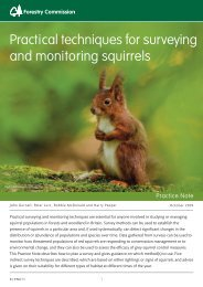 Practical Techniques for Surveying and Monitoring Squirrels