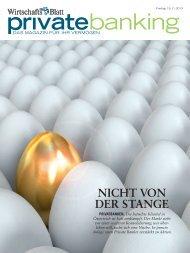 NICHT VON DER STANGE - wirtschaftsblatt.at