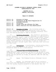chapter 20-x-2 general provisions - Alabama Administrative Code