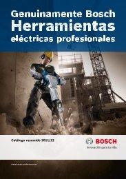 Catálogo resumido 2011/12 - Bosch