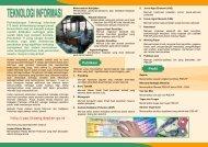 leaflet web 24-7-07 - Pusat Sosial Ekonomi dan Kebijakan ...