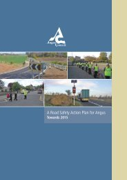 A Road Safety Action Plan for Angus Towards 2015 - Angus Council