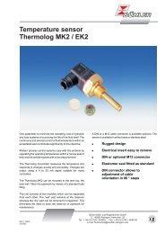 Temperature sensor Thermolog MK2 / EK2