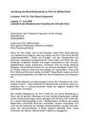 Laudatio Schusser - Veterinärmedizinische Fakultät