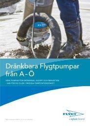 Dränkbara Flygtpumpar från A – Ö - Water Solutions