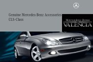 Genuine Mercedes-Benz Accessories CLS-Class - Dealer.com