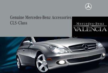 Genuine mercedes benz accessories cls class for Mercedes benz usa accessories