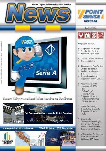 Nuovi Accordi 2006 Beru - Purflux/Sogefi - Point Service
