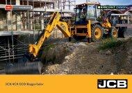 Produktbroschüre Baggerlader 3 CX & 4CX - JCB Baumaschine