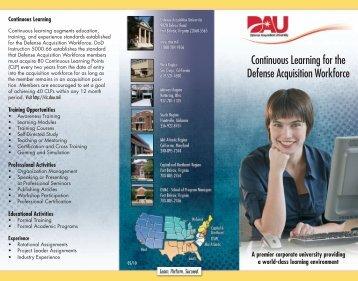 Participating Components - Defense Acquisition University