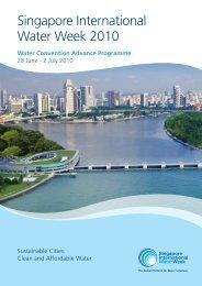 Singapore International Water Week 2010 - IWA