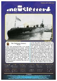 January 12 - Barrow Submariners Association