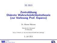 zur Vorlesung Prof. Esparza