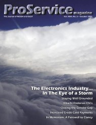 The Electronics Industry... In The Eye of a Storm The Electronics ...