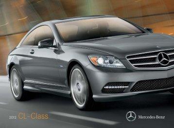 Download The CL-Class Brochure - Mercedes-Benz USA