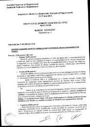 Barem definitiv DC+DPC proc. (23.05.13).pdf - Institutul Naţional al ...