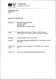 Urteil des Obergerichts - VgT