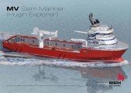 MV Siem Mariner (Hugin Explorer) - Siem Offshore AS
