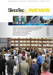 3. SincoTec Workshop 2011 - Kostenreduzierung und ...