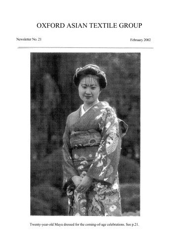 download - OATG. Oxford Asian Textile Group
