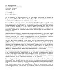 11 February 2013: Open letter to the Prime Minister of ... - hic-sarp.org