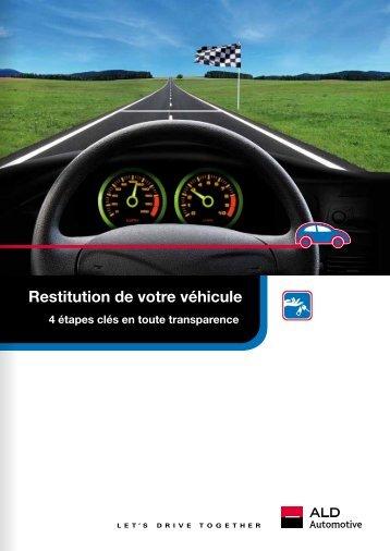 Restitution de votre véhicule - ALD Automotive