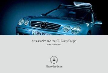 Accessories for the CL-Class Coupé - MB-Parts.com.ua.