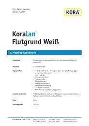 Koralan® Flutgrund Weiß 1. Produktbeschreibung - tuj.de