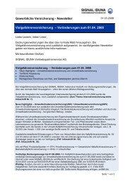 Newsletter - Gew. Sach - Vdk-online.de
