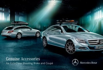 Genuine Accessories for CLS-Class Shooting Brake and ... - Daimler