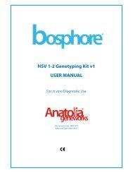 HSV 1-2 Genotyping Kit v1 USER MANUAL - LAB MARK