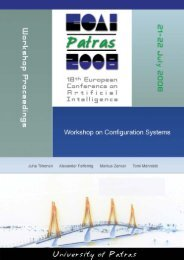Workshop on Configuration Systems - SoberIT