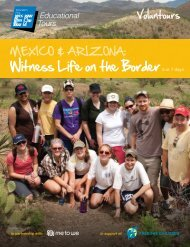Witness Life on the Border - EF Educational Tours