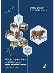 1 introduction - National Dairy Research Institute