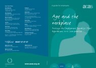 6683 Age and the Workplace text 4 AWK.indd - Acas