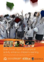 Brain boost: Sport and physical activity enhance children's learning