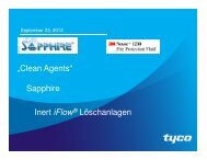 Tyco FPP Clean Agents 092013