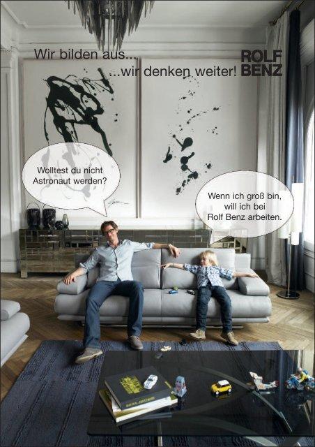 Wir bilden aus... ...wir denken weiter! - Rolf Benz