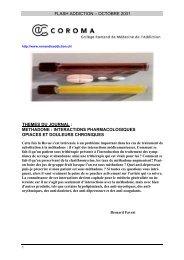 Version pdf - Collège romand de médecine de l'addiction