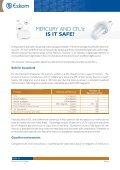 Mercury content CFLs - Eskom IDM - Page 2