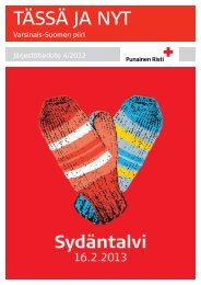 SPR VS Tässä ja Nyt järjestötiedote 4_2012.pdf - RedNet
