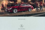 2009 Mercedes-Benz CLS-Class Brochure