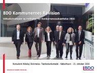 IKU og udbudsstrategier - BDO