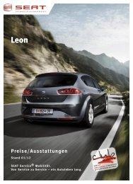 Preisliste im PDF-Format - SEAT Logo