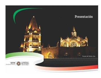 Presentación - Secretaría de Finanzas