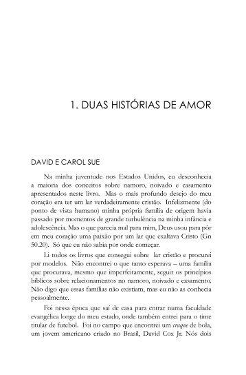1. DUAS HISTÓRIAS DE AMOR