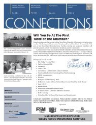 Will You Be At The First Taste of The Chamber? - West Shore ...