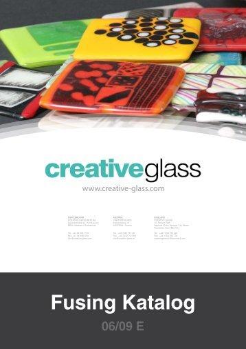 Fusing Katalog - Creative Glass